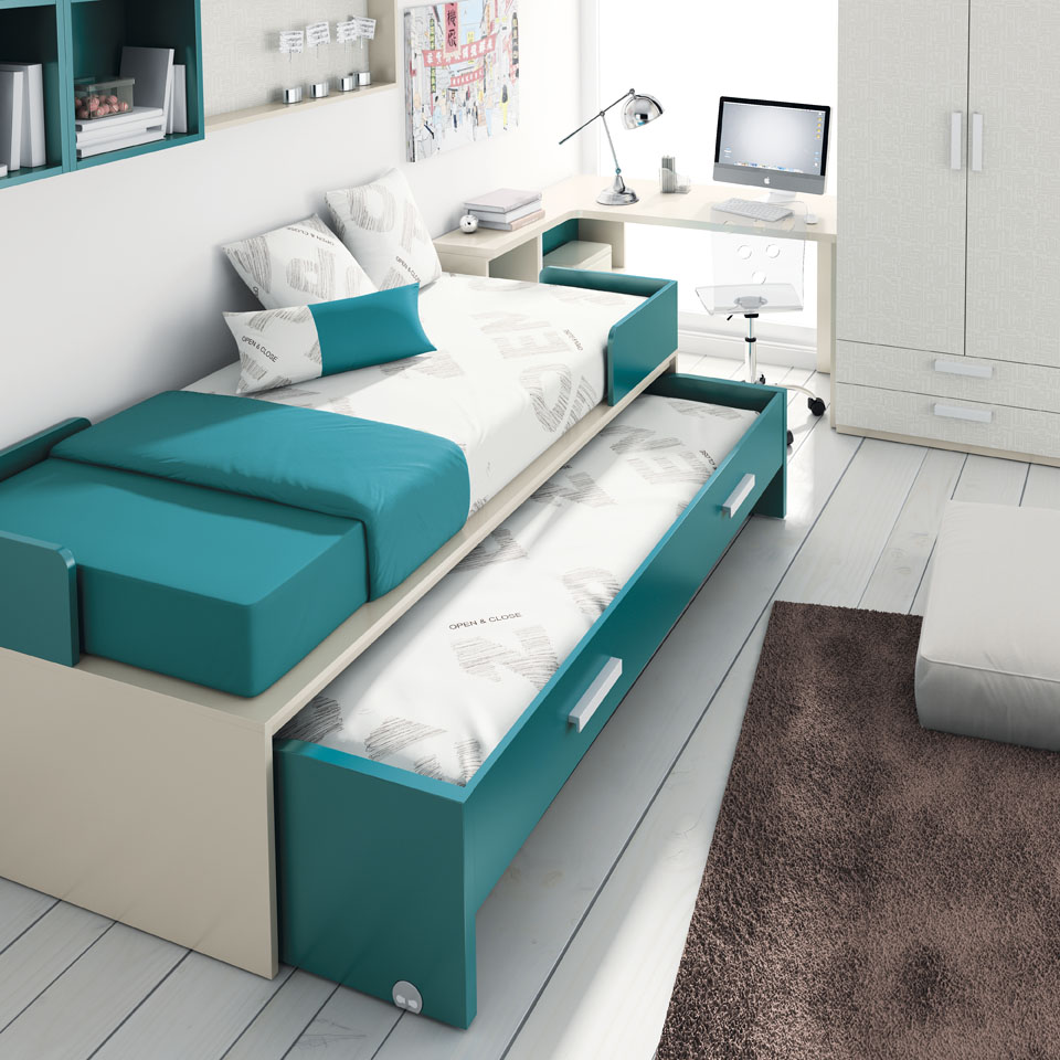 Camerette Per Ragazzi Flou : Soluzioni salva spazio per la cameretta dei bambini