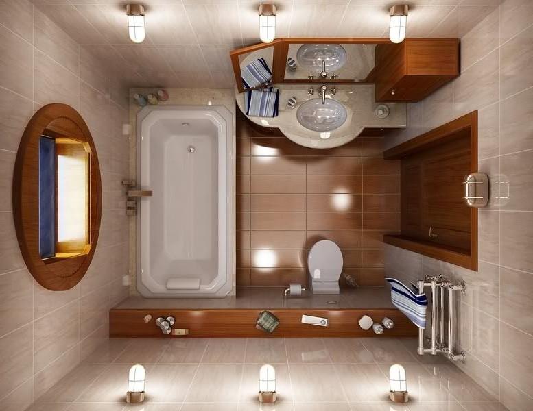 Idee brillanti per arredare un piccolo bagno