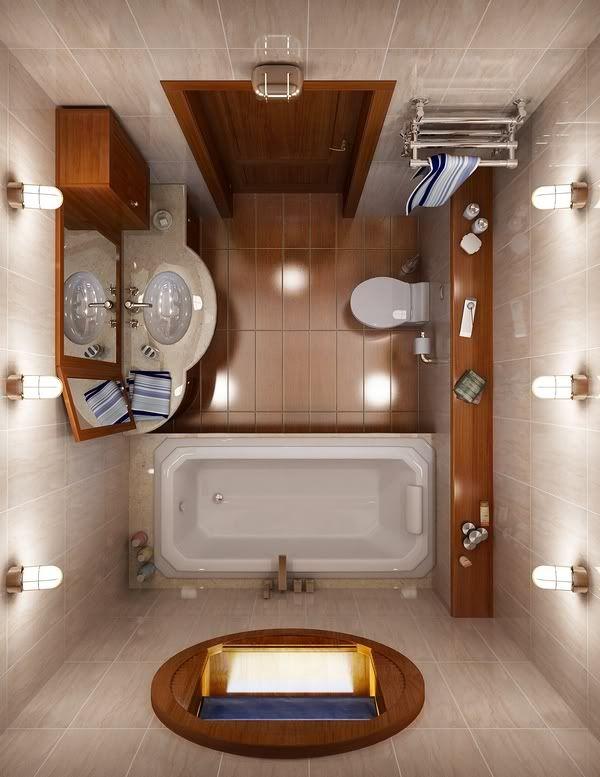 11 idee brillanti per arredare un piccolo bagno for Idee per arredare il bagno piccolo